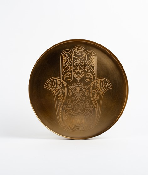 LIV Hamsa Dish gold