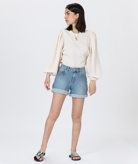 SELECTED FEMME SLFSilla MW Shorts denim