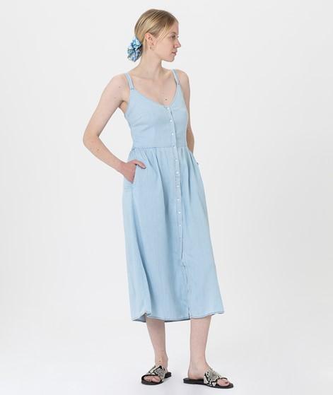 VILA VIBista Strap Midi Kleid denim