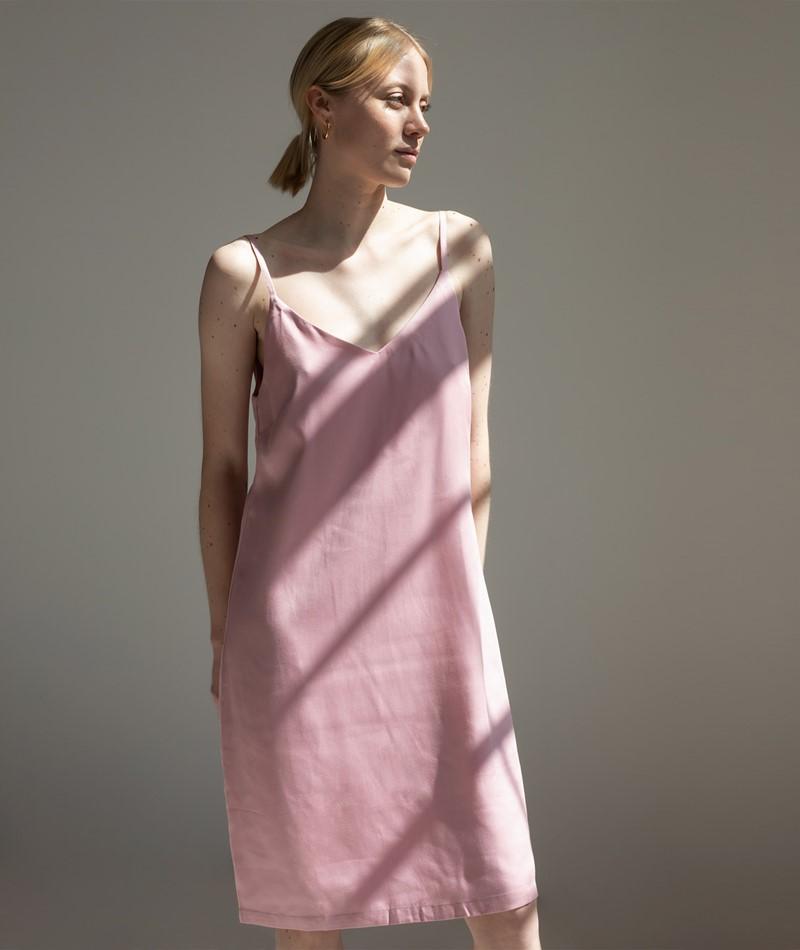 ANOTHER LABEL Bergen Kleid pink nectar