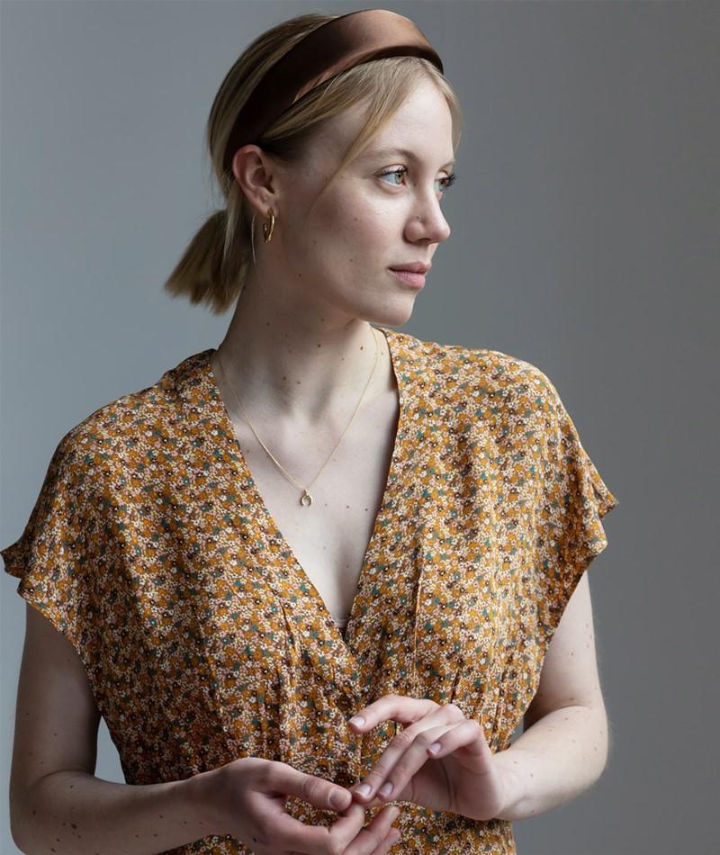 SAMSOE SAMSOE Valerie Short Kleid print