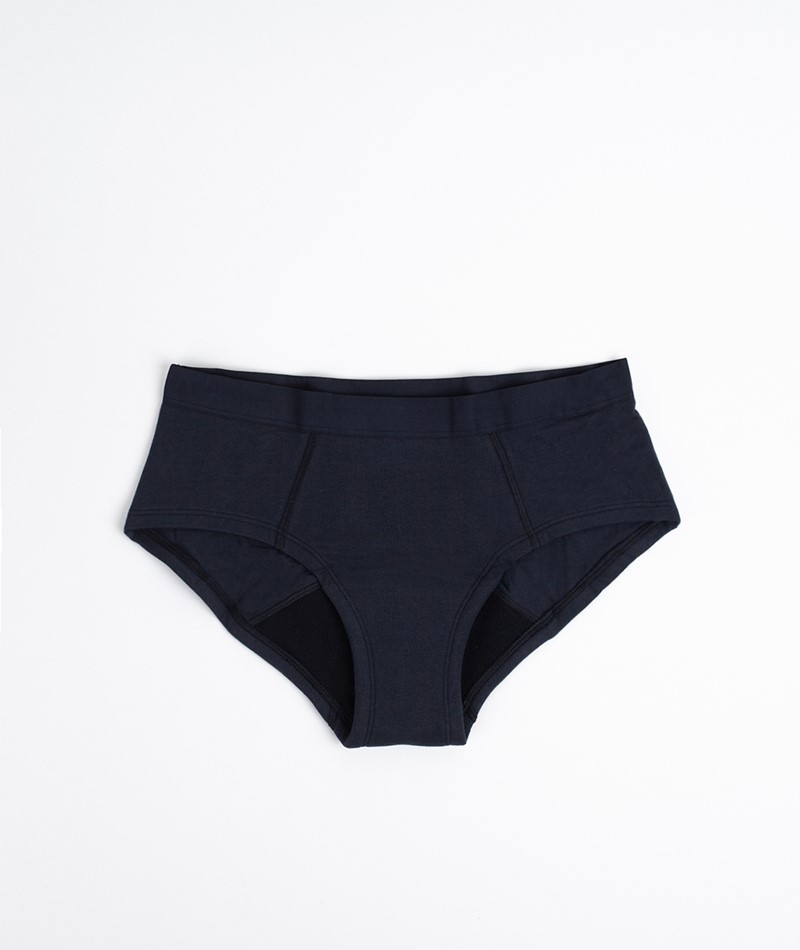 THINX Cotton Brief Unterwäsche black