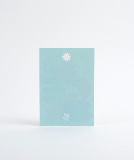 KAUF DICH GLÜCKLICH Postkarte Colour