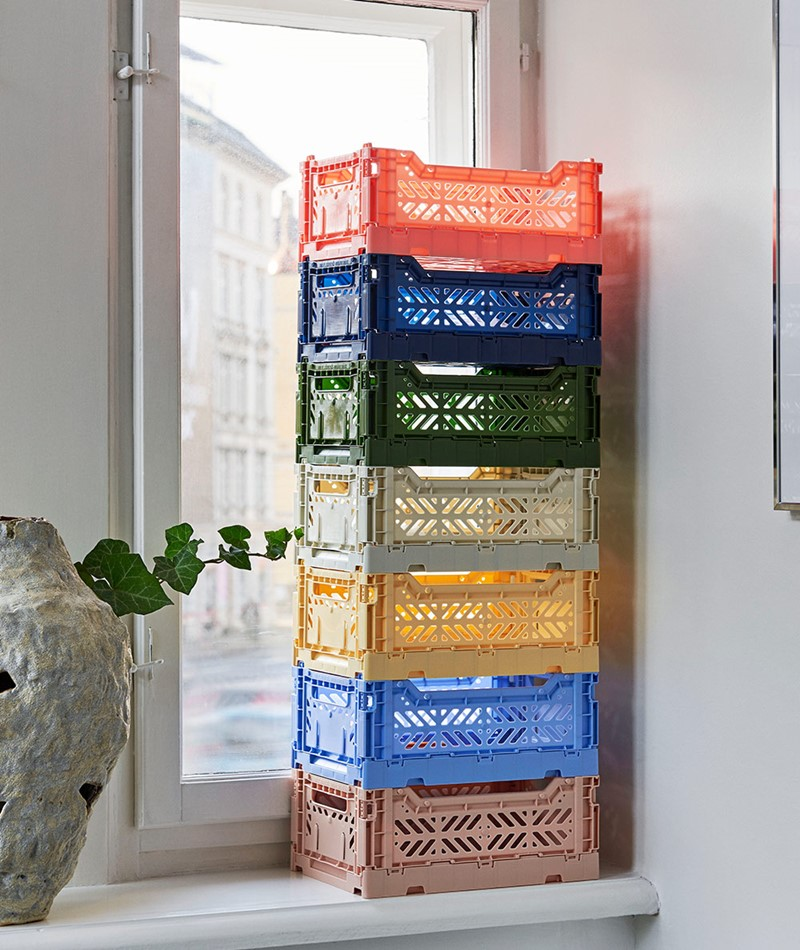 HAY Colour Crate/ M Korb light blue