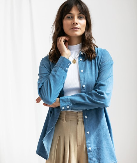 MOSS COPENHAGEN Chea Lyanna T-Shirt blue