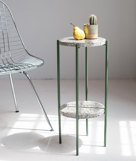 BLOOMINGVILLE Earth Sidetable green