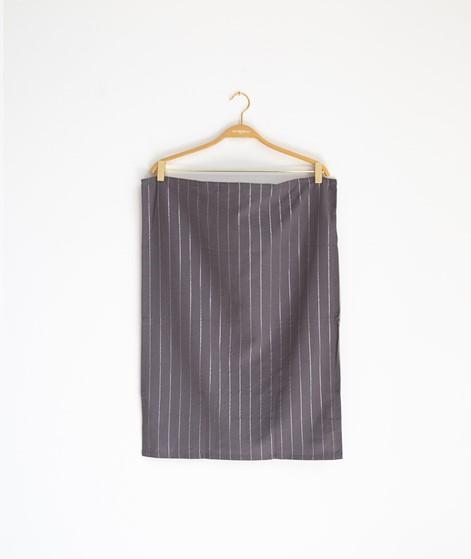 MADAM STOLTZ Striped Kitchen Towel grau
