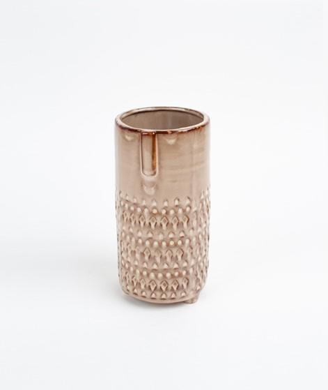 MADAM STOLTZ Vase w/ face imprint