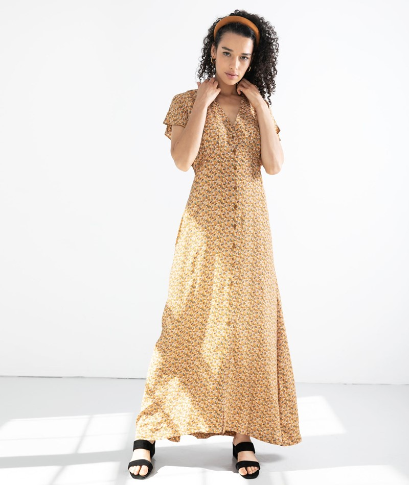 SAMSOE SAMSOE Valerie Long Kleid blossom
