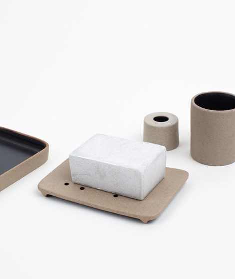 FERM LIVING Soap Tray black