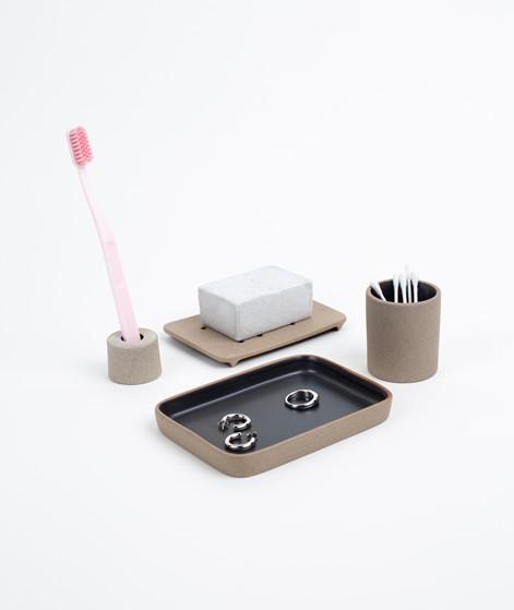 FERM LIVING Soap Tray black