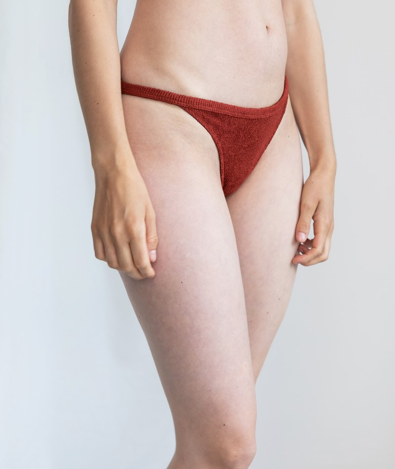 ICONE Palms Panty bordeaux