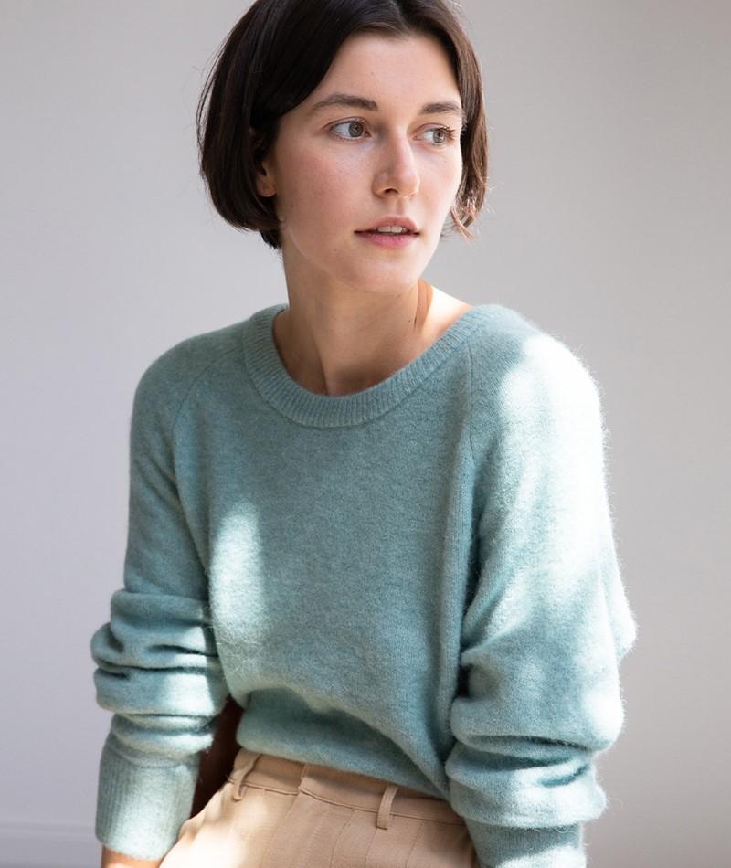 SAMSOE SAMSOE Nor ON Short Pullover mint