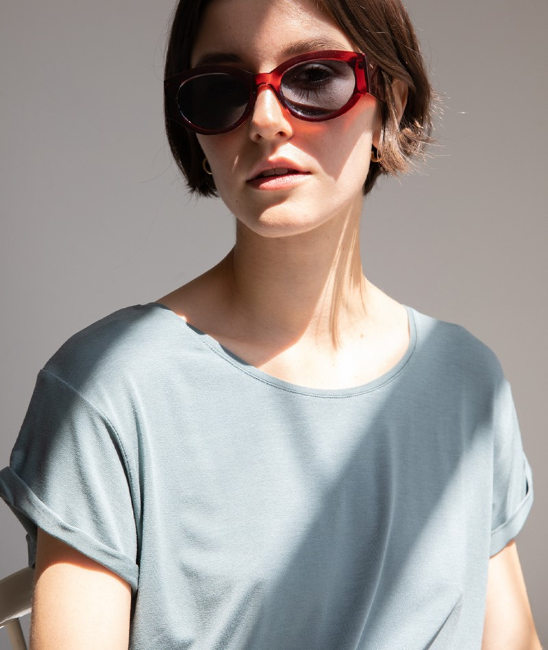 M BY M Nisha Gogreen Luxe T-Shirt grün