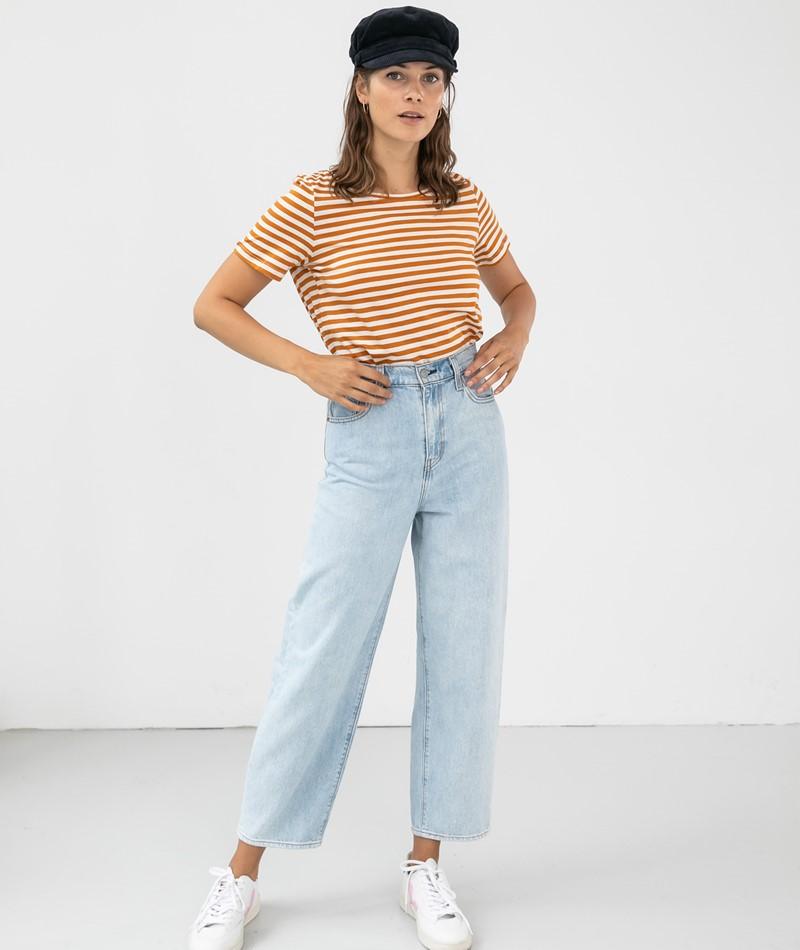 VILA VISus O-Neck T-Shirt gestreift