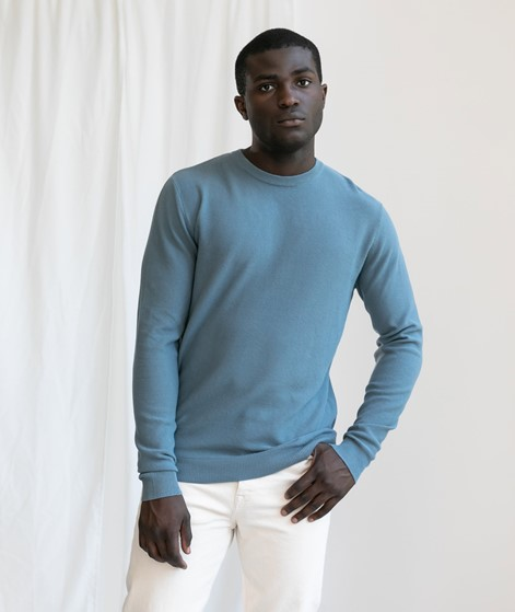 MINIMUM Curth Pullover blue