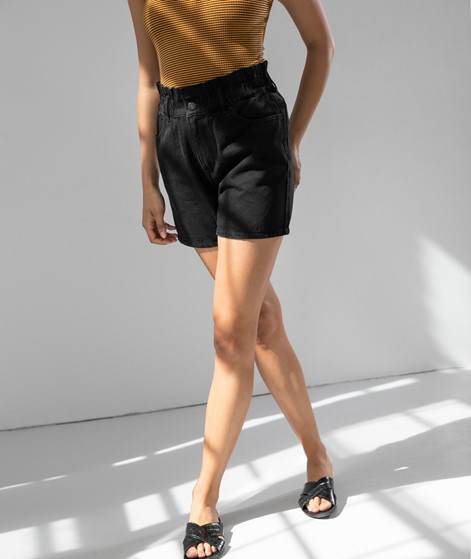 VILA VIJemma Denim Shorts black