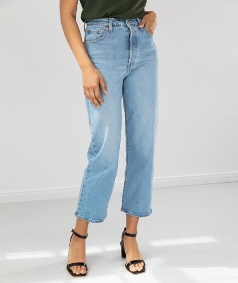 LEVIS Ribcage Straight Ankle Jeans denim