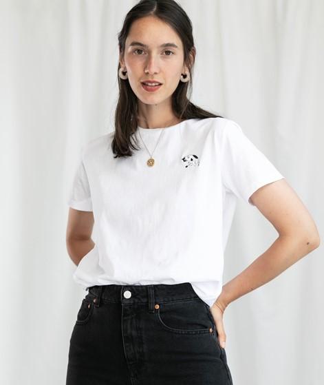 KAUF DICH GLÜCKLICH T-Shirt weiß Katze