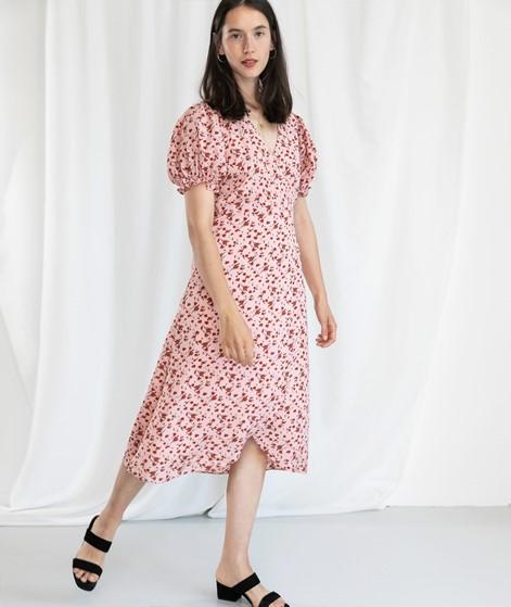 NEO NOIR Carli Flower Kleid rose
