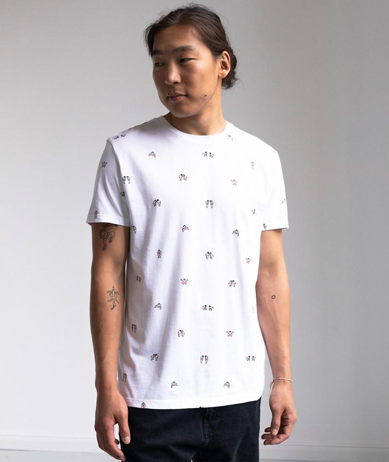 KAUF DICH GLÜCKLICH T-Shirt Sumo white