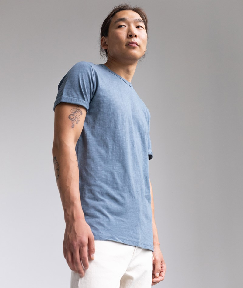 MINIMUM Delta T-Shirt blue mirage
