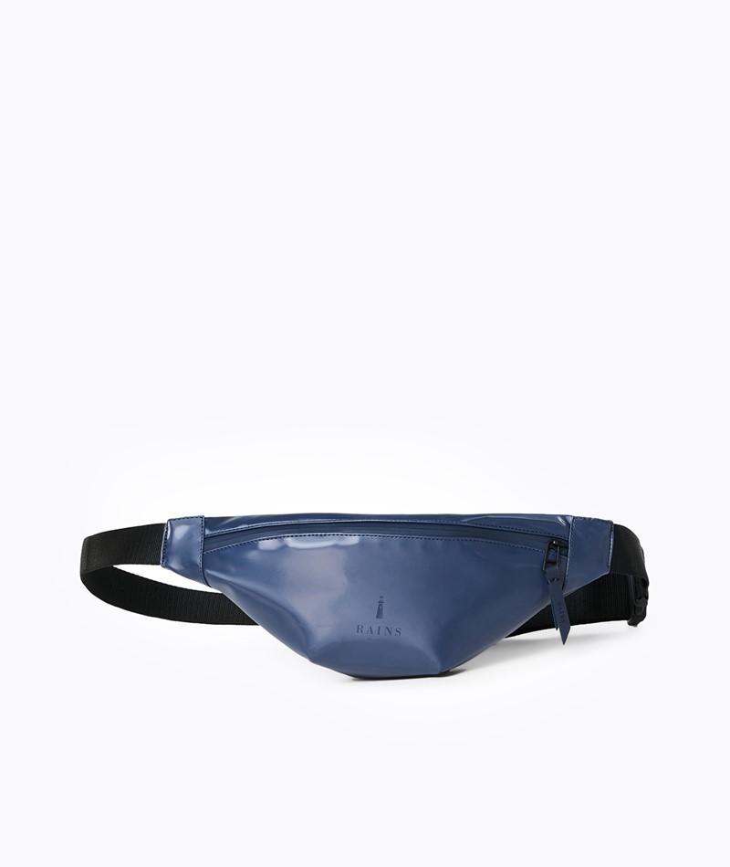 RAINS Bum Bag Mini Bauchtasche blau