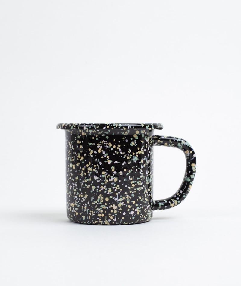 HAY Enamel/Mug 250 ml sprinkle black