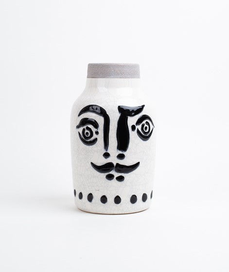 MADAM STOLTZ Ceramic Vase face
