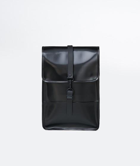 RAINS Backpack Mini Rucksack schwarz