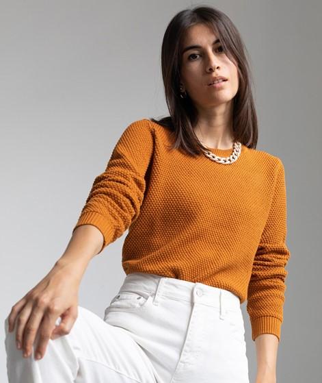 VILA VIChassa Strickpullover orange