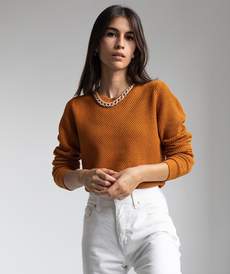 VILA VIChassa Strickpullover orange