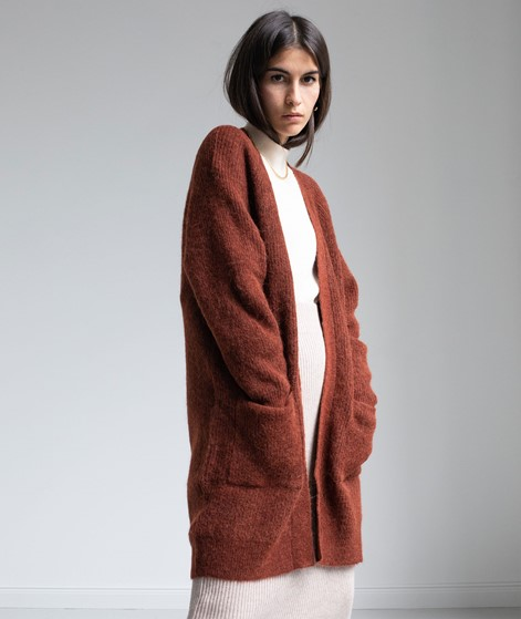 SELECTED FEMME SLFLulu Long Cardigan rot