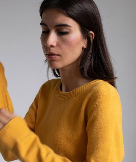 VILA VIRil O-Neck Strickpullover gelb
