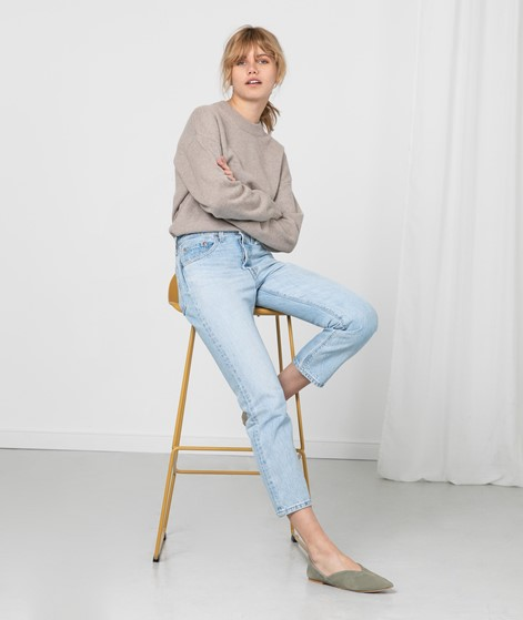 LEVIS 501 Crop Jeans denim