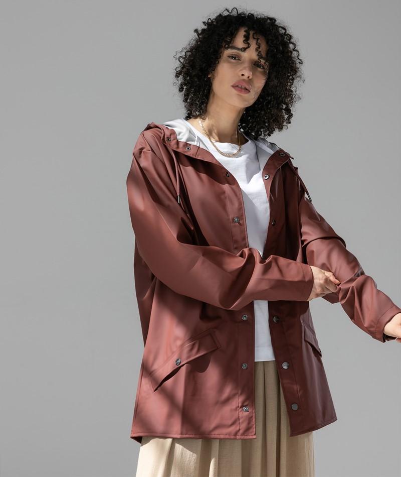 RAINS Jacket rot