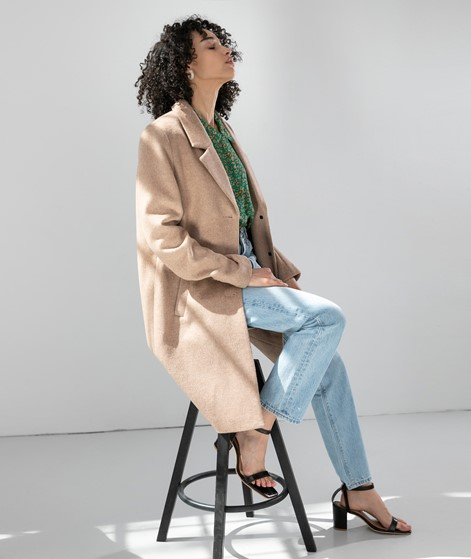 SELECTED FEMME SLFSasja Wool Coat camel