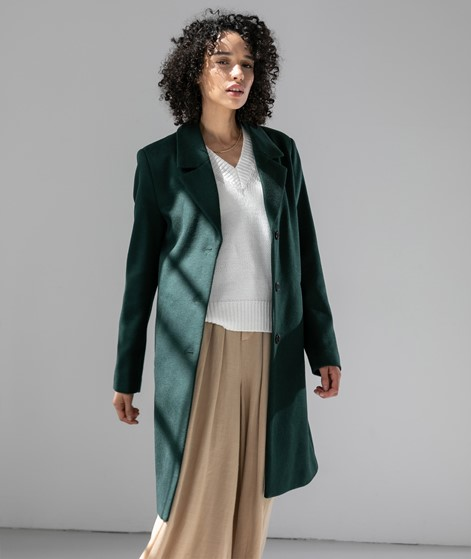 SELECTED FEMME SLFSasja Wool Coat grün