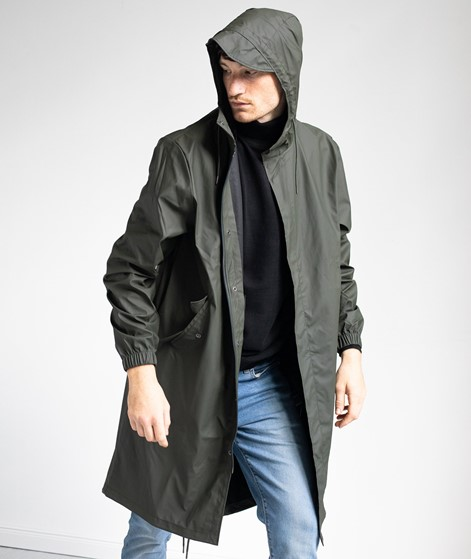 RAINS Fishtail Parka grün