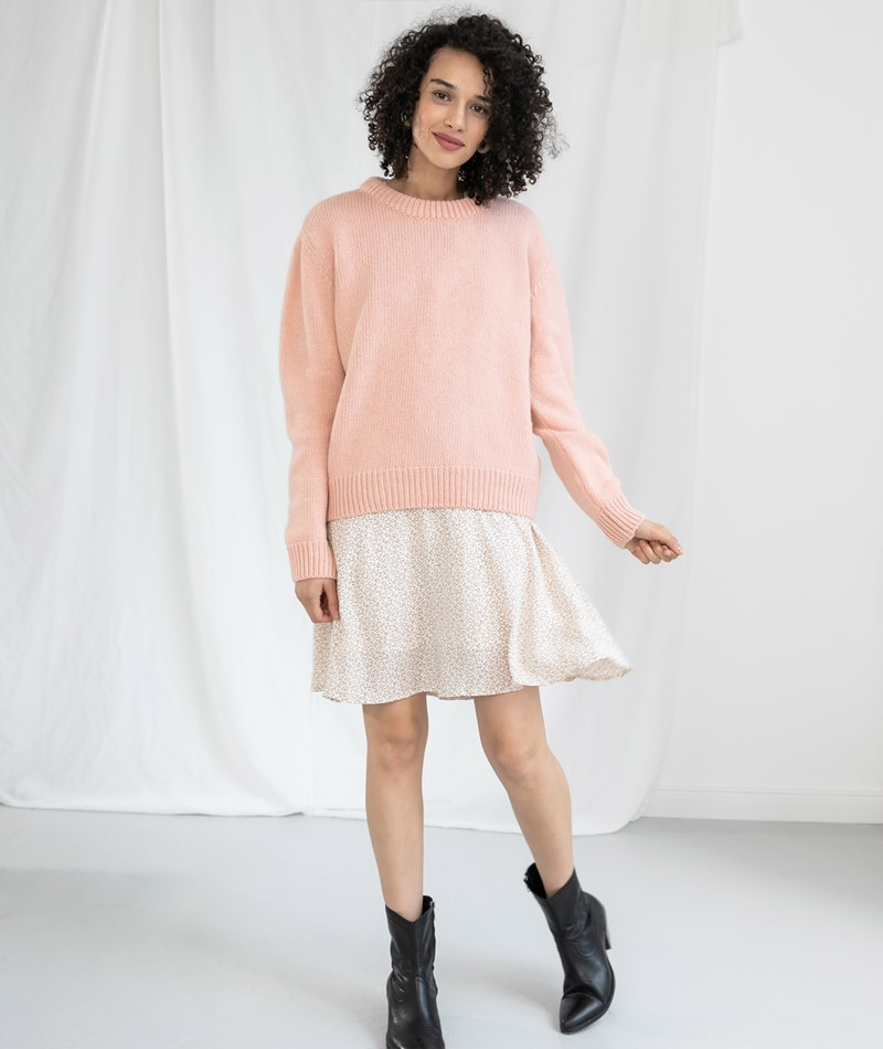 MADS NORGAARD Kaily Pullover rosa