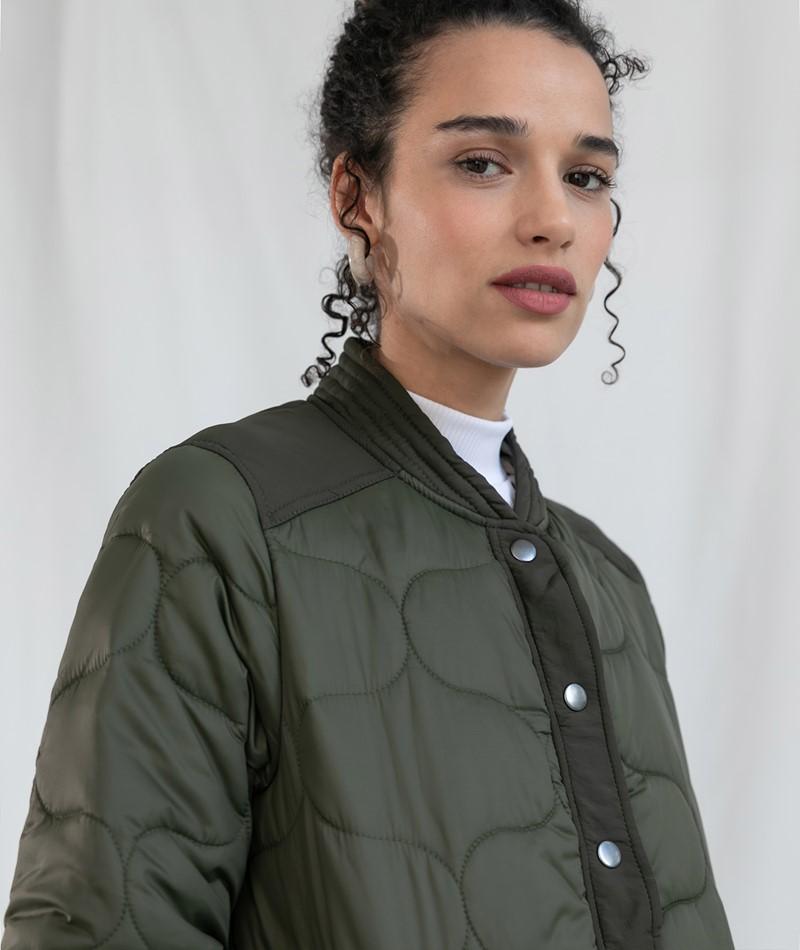 GLOBAL FUNK Kacia Jacke khaki