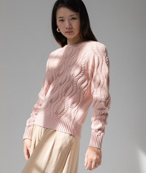VILA VILina Strickpullover rosa
