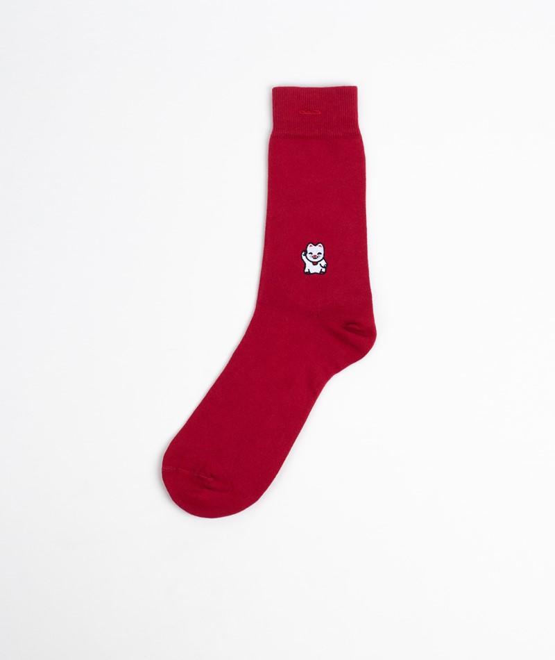 A-DAM Loek Socken rot