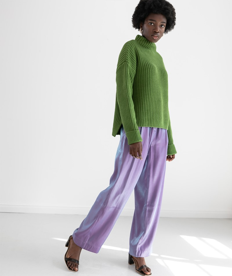 SELECTED FEMME SLFSelma Pullover grün