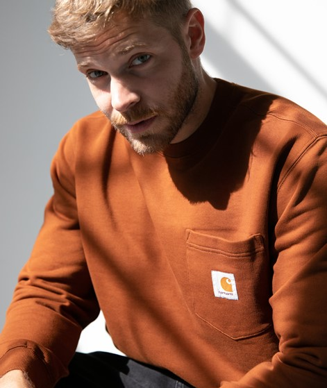 CARHARTT WIP Pocket Sweater brandy