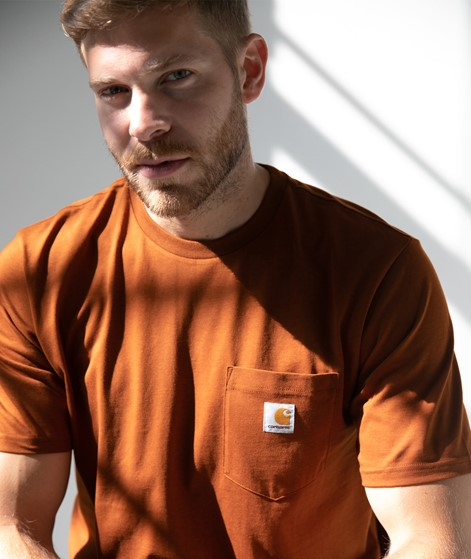 CARHARTT WIP Pocket T-Shirt brandy