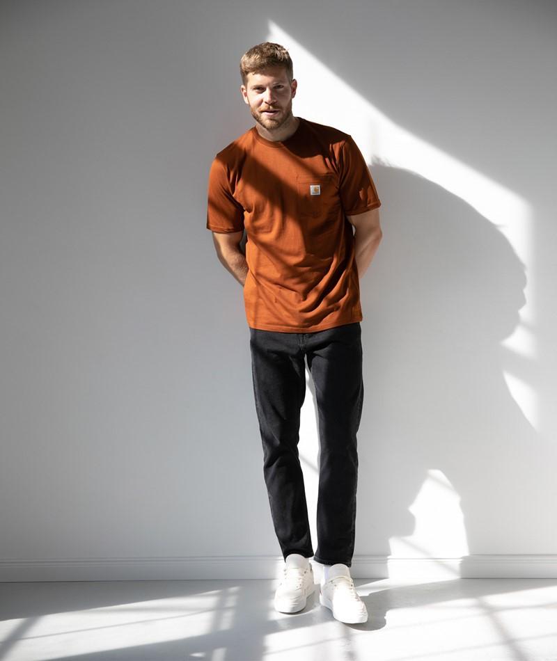 CARHARTT WIP Pocket T-Shirt brandy