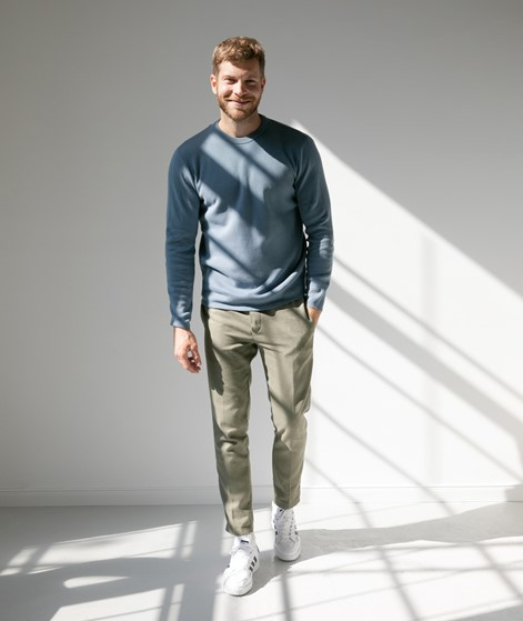 MINIMUM Peer Pullover blau