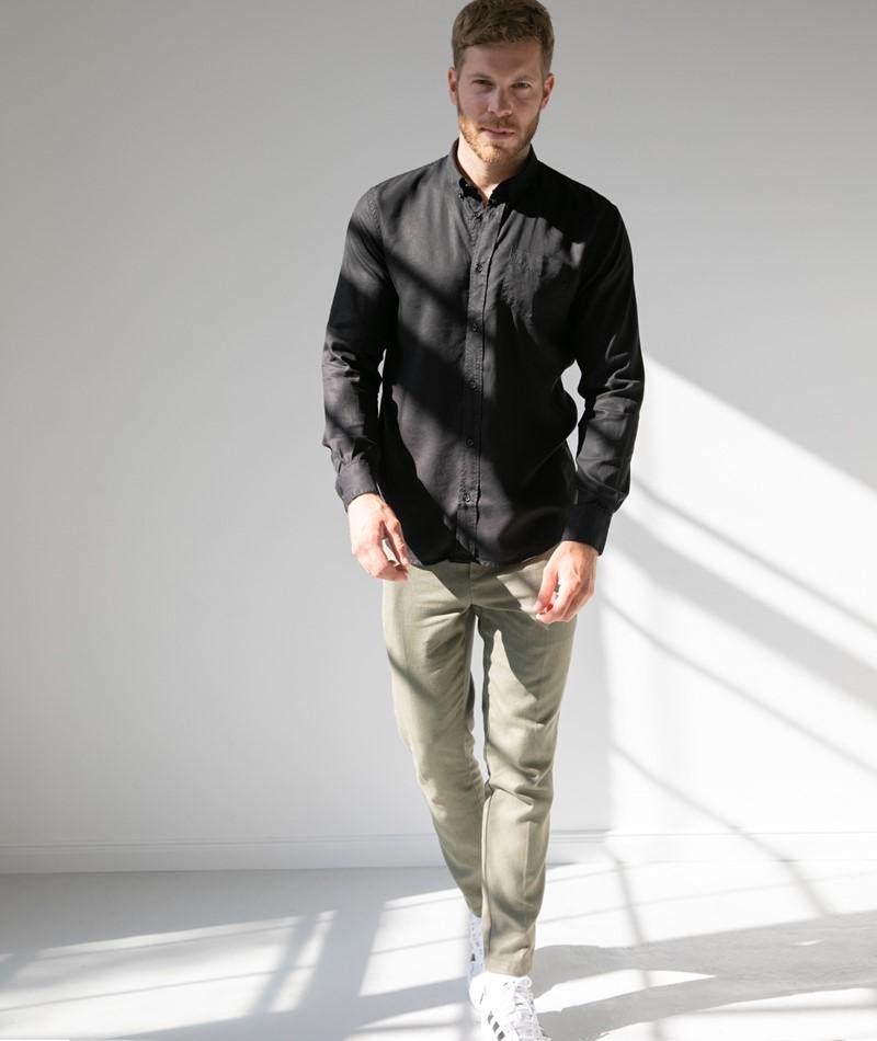 SUIT Ekko Hemd schwarz