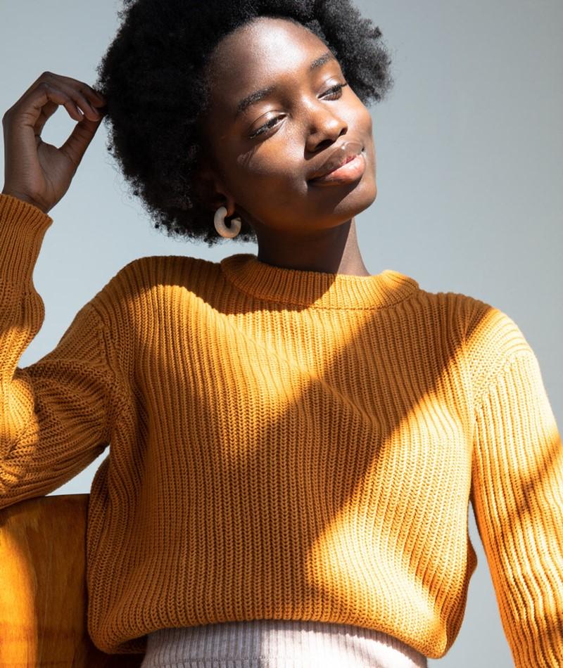MINIMUM Mikala Pullover gelb
